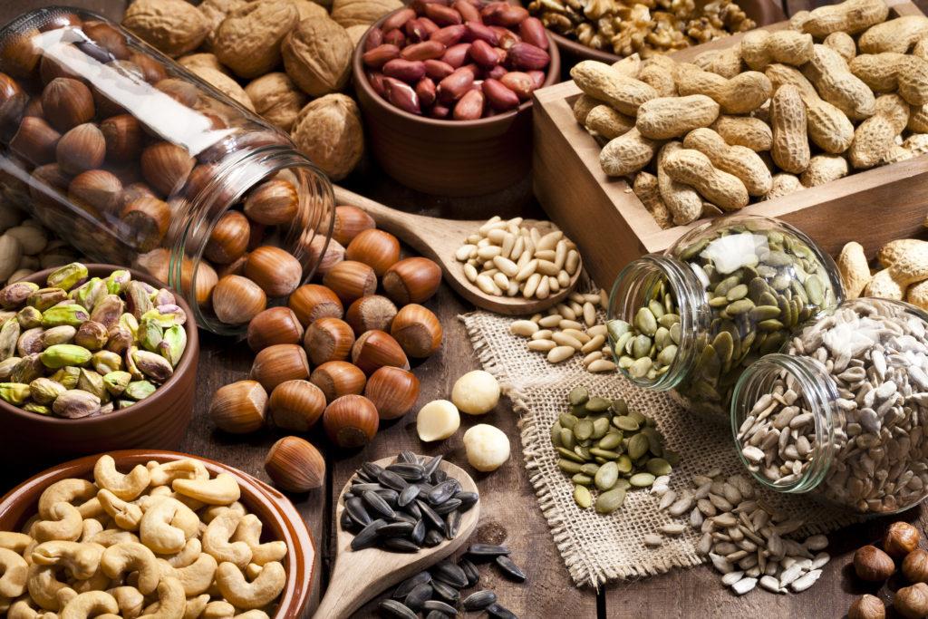 Орехи на кето-диете: лучшие сорта