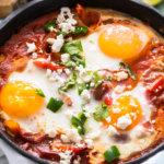 Кето-рецепт южной шакшуки