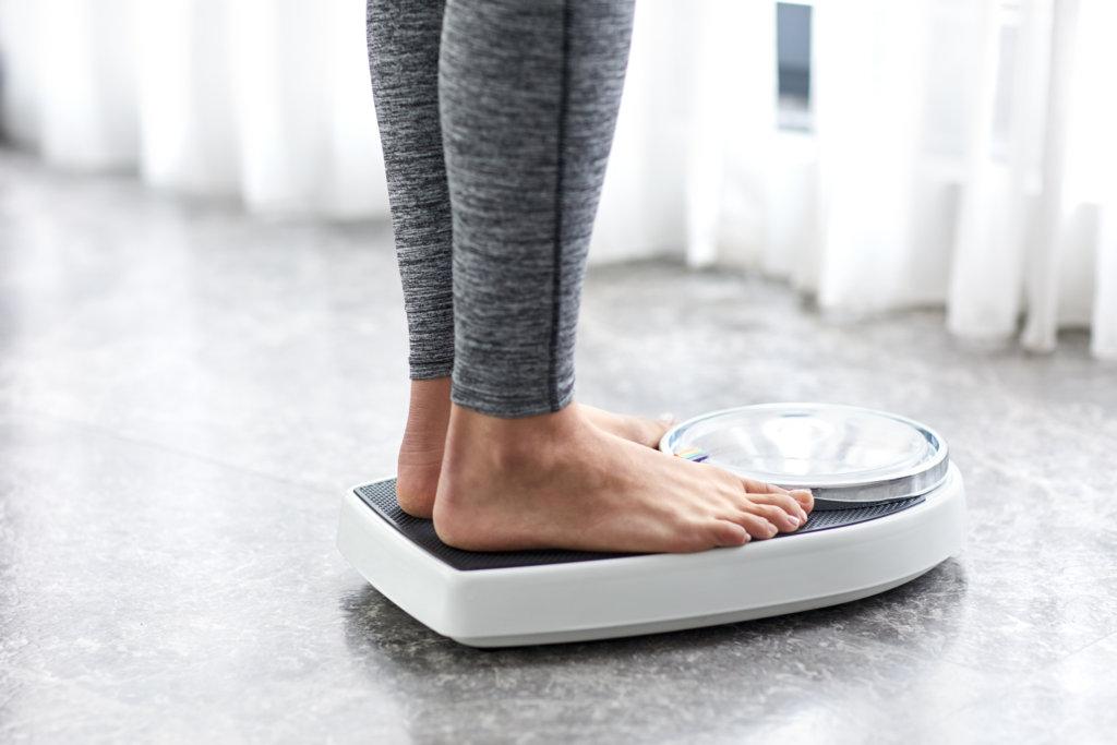 здоровый вес тела