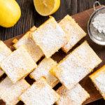 Лимонные кето батончики