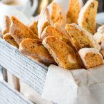 Очень хрустящее кето печенье Бискотти без сахара