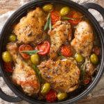Низкоуглеводный рецепт курицы Провансаль