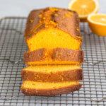 Апельсиновый кето пирог из миндальной муки